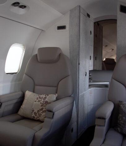 _!DINKY Cabine LH Rear seat with wardrobe original