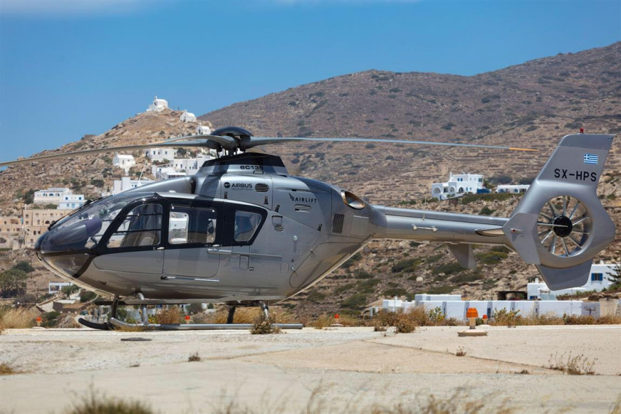 Helicopter Greece