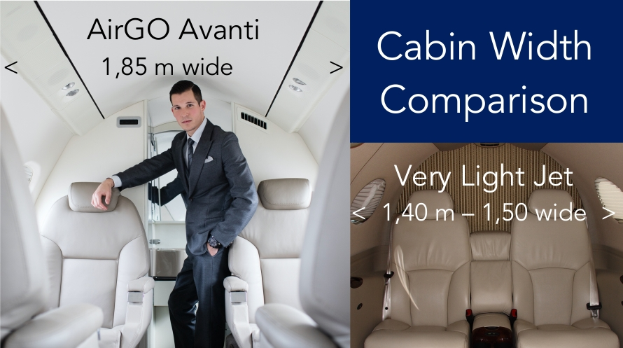 large Avanti cabin